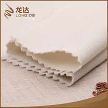 Longda Latest trendy eco-friendly suit solid viscose linen fabric