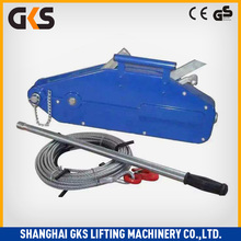 small Wire rope Hand Winch Traction Machine