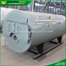 Horizontal Gas or Oil fired fire tube steam boiler / Steam Generator