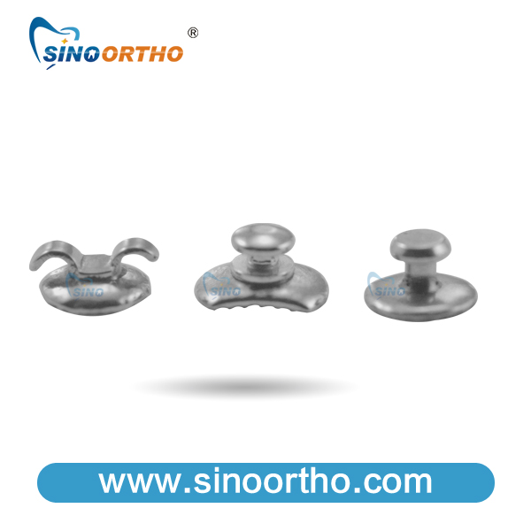 SINO ORTHO Orthodontic dental lingual mechanical wireless elevator push plastic button