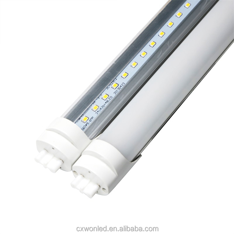 High brightness Aluminum 1200mm T8 led tube light 85-265V 18W SMD2835 t8 tube