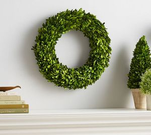 preserved boxwood wreath Christmas Wreath garland Manufacturer and first production of preserved plants