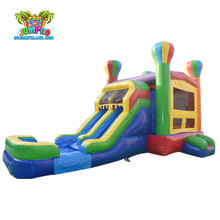 factory customized inflatable jumping balloon castle, bouncer slide combo for hot sale