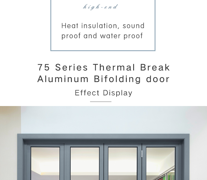 ROGENILAN 75 series Australian Standard AS2047 aluminum door designs of residential house economic folding door prices