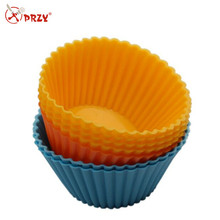 PRZY T121 Egg tarts cupcake silicone mold , cake decorating tools