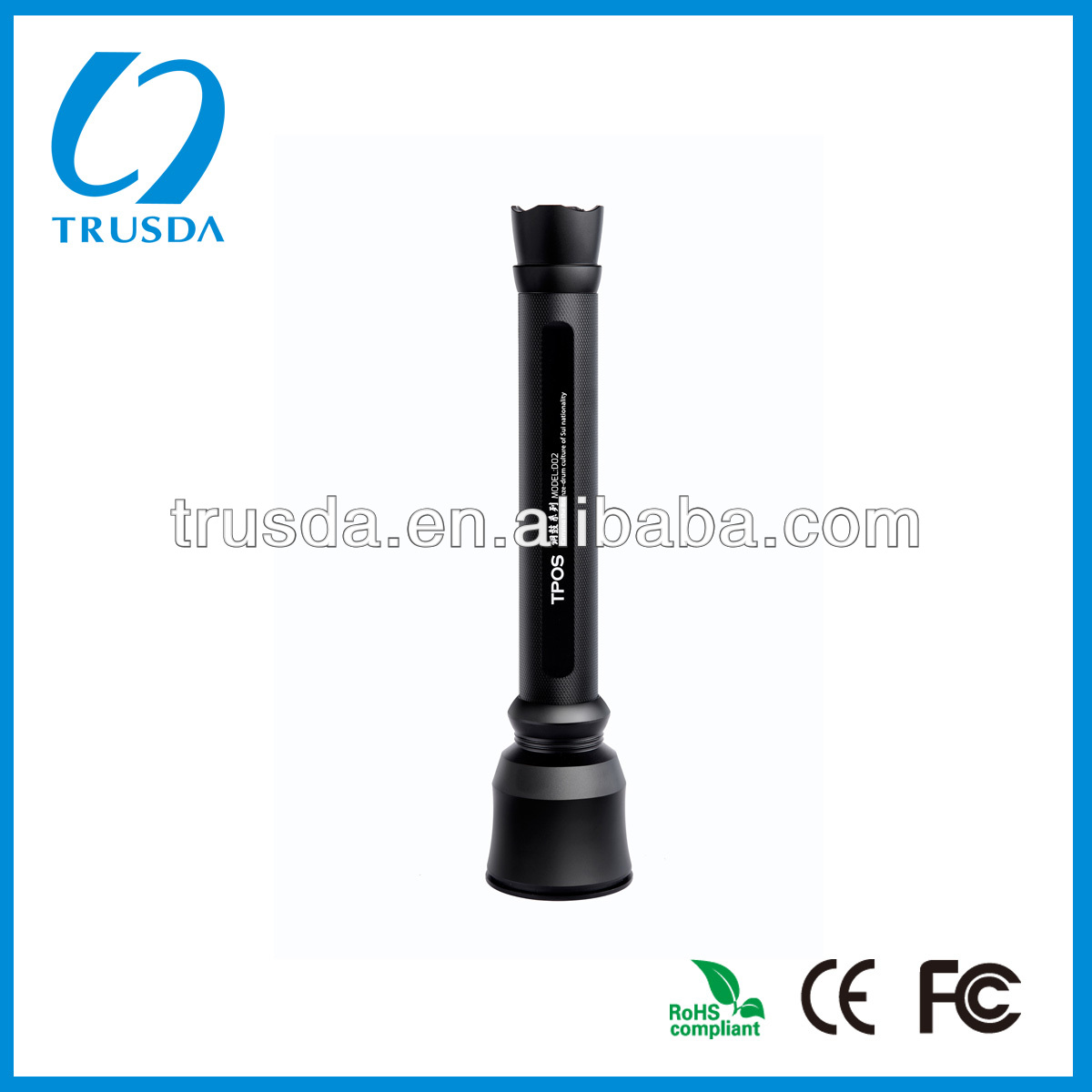 Environment friendly material LED Flashlight gold supplier