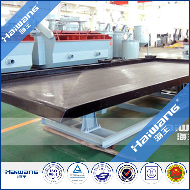 Mineral concentrated separating shaking table / shaking table / shaking tables for gold processing manufacturer
