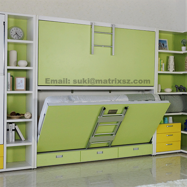 Murphy Bed Folding Wall Bed Wall Mounted Bed With Bunk Bed