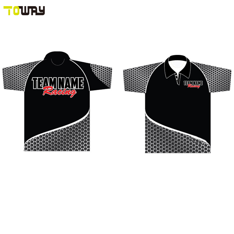 sublimated racing pit crew shirts