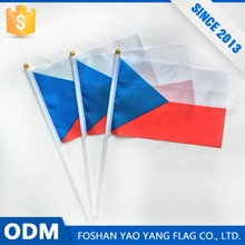 Hot Products Advertising Promotion Custom Small Czech National Hand Flags