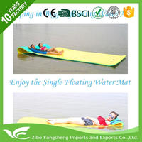 2016 hot sale large floating water mat inflatable flip flop easy to clean
