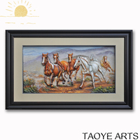 2016 FY D024 famous horse painting beautiful 3d picture horse