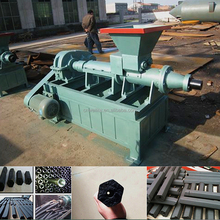 BBQ charcoal screw type making coal briquette extruder machine with factory price