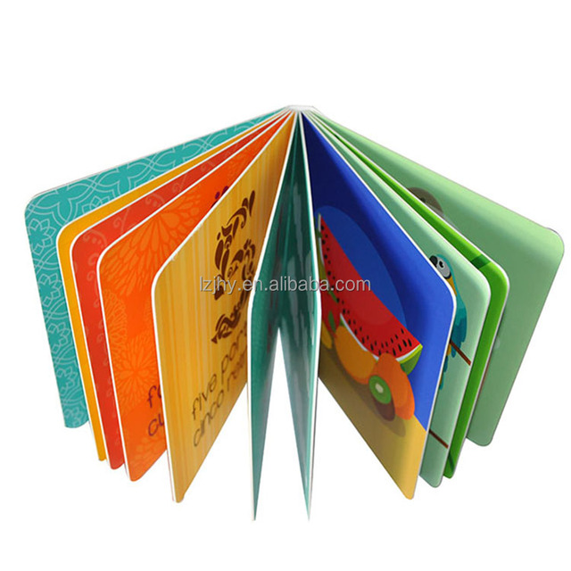 english learning books for kids hardcover board book printing