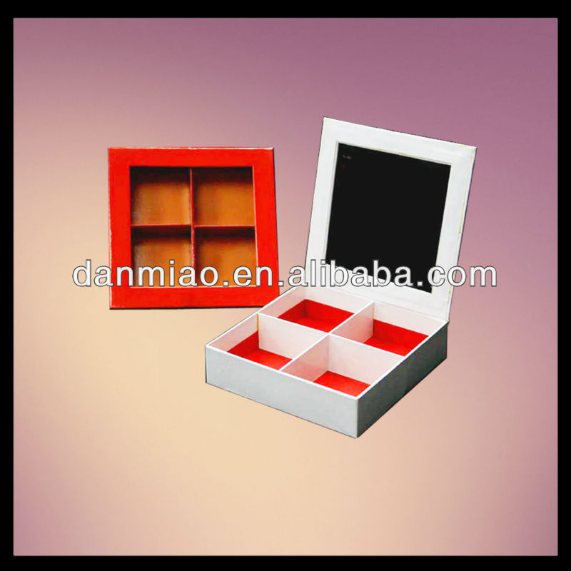 Hot!!! antique jewellery box with dividers