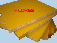 FRP PP honeycomb truck body sandwich panel