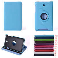 360 Rotating Stand Flip PU Leather Smart Tablet Cover Case For Asus MeMO Pad HD 7 ME173X