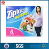 2 mil reclosable plastic ziplock pharmacy bag with zipper top, 50/pack