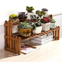 Hot Sale Wooden Flower Pot Stand Table