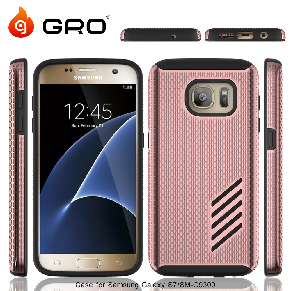 2016 China Factory Wholesale TPU+PC Armor Case For Samsung S7