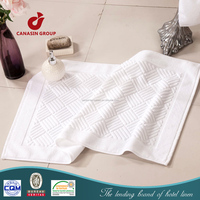luxury hotel cloth fabric bathmat