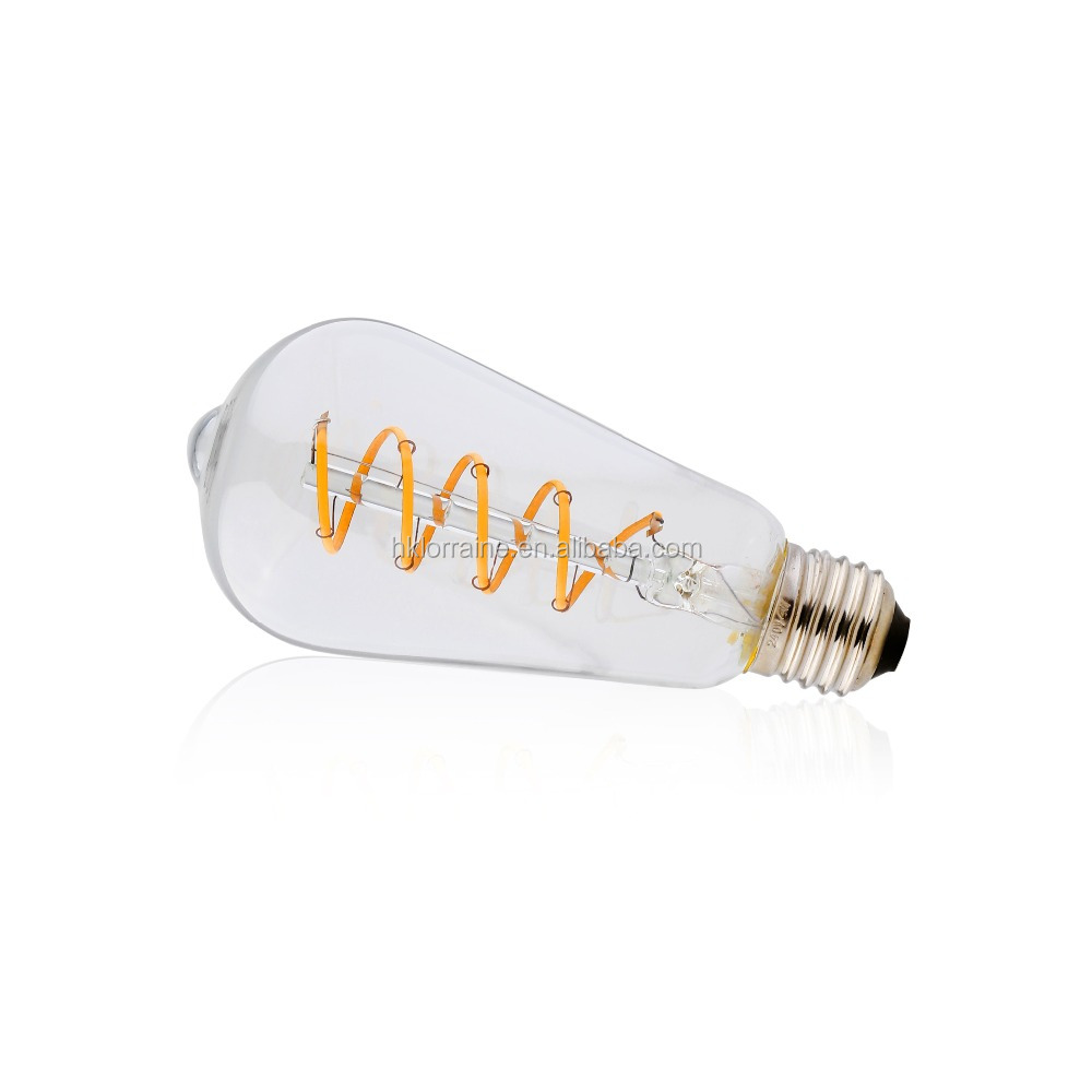 SPIRAL TYPE LED FILAMENT BULBS