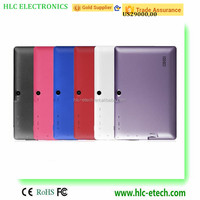 Colorful 7 Inch Cheapest Android 4..2.2 Jelly Bean Tablet PC Tab Dual Camera Wifi