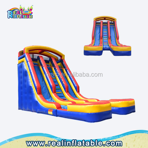 Popular commercial inflatable water slides,cheap water slides prices,slip and slide for adult