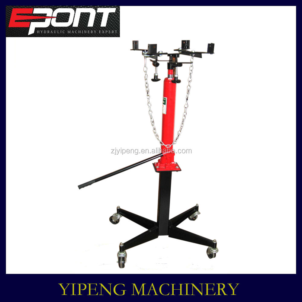 2015 latest multi-function 0.5 ton transmission jack high efficiency low price