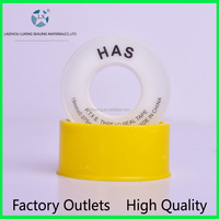 High Quality Best Price Transparent ptfe Tape Teflon tape High Temperture Teflon Tape for Water & Gas Pipe Manufactures
