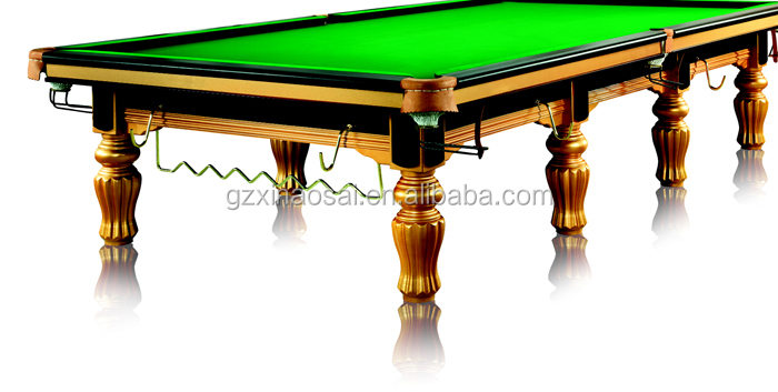 12ft International Standard Pool Billiard 45mm Slate Snooker Table for sale