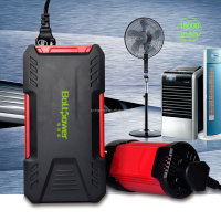 2016 Juxing D12 16500mAh Lithium battery car jump starter portable battery jump starter for 12V car