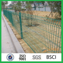 High quality all kinds of fence mesh peach type column fence netting /High quality powder coated 3D panel fence