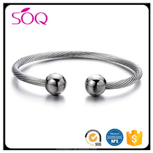 Fashion Design Custom Magnetic Stainless Steel Bracelet for Men's Net Charm Jewelry