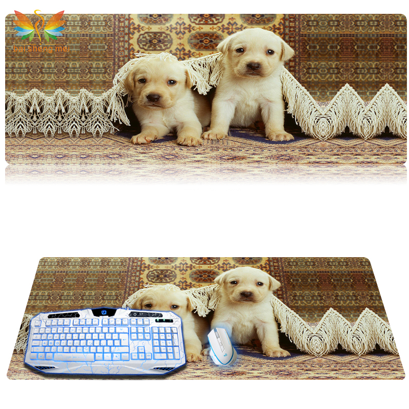 Customized printed rubber mouse pad with large size