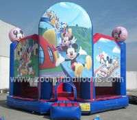 Hot sale inflatable mickey mouse jumping castle Z1040