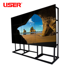 "User 46"" 55"" 3x3 ultra narrow bezel LCD video wall for store"