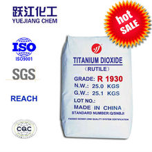 dioxide titanium tio2 general used for paint,coating,rubber and Plastics