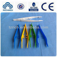 disposable plastic forceps for medical use ,with 10 types for your choose