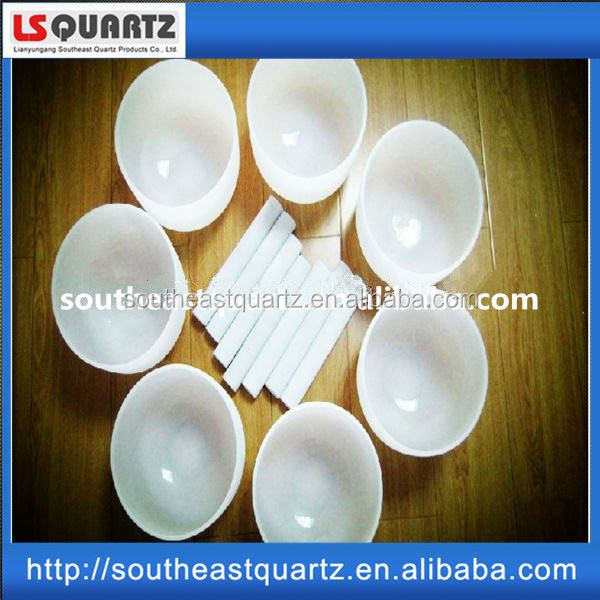 cheap crystal singing bowls from natural crystal powder from southeast quartz lianyungang jiangsu