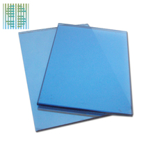 China High Quality CCC Approve Dark Blue Heat Reflective Glass Factory