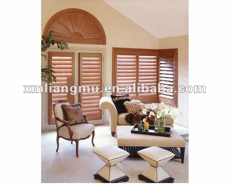 Sound-Proof Plantation Shutters Window Shades