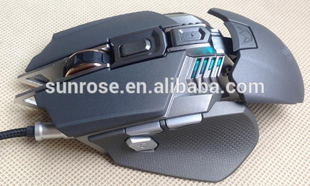 Professional usb mouse specification 2500 dpi gaming mouse 7 buttons gaming mouse with low price