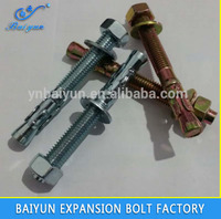 steel wedge anchor bolt exporter manufacturer M6 M8 M10 M12 M16 M20 M24 anchor bolt m30