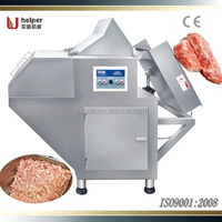 Frozen meat flaker machine