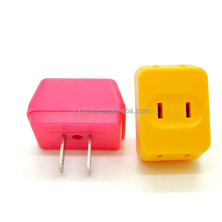 15A 125V Japan plug/OEM color plug/japan hot sale adapter