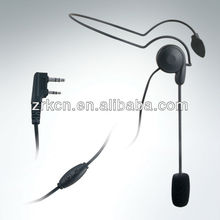 Portable All-In-One Wireless PA System with Two way radio headset microphone