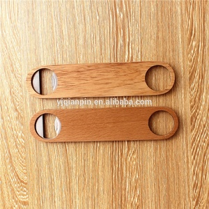 custom wooden beer bottle opener wine opener