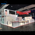 Customized size Double Deck Exhibition Booth trade show booth supplier