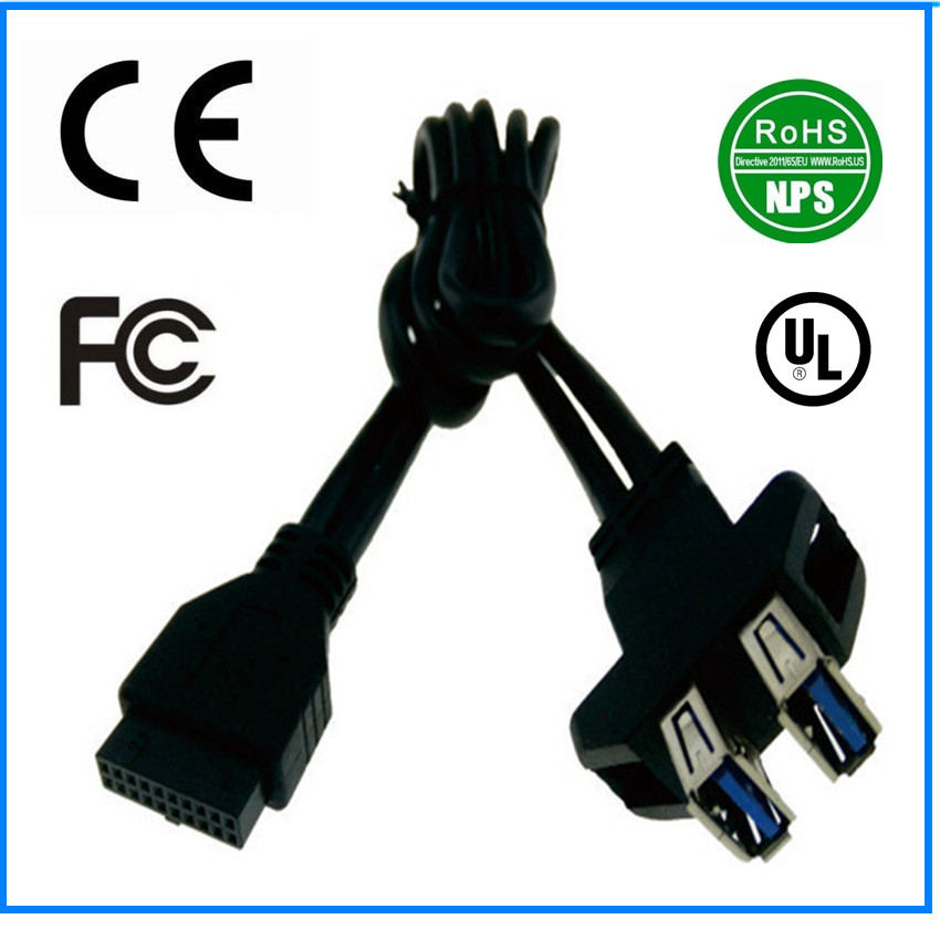 USB 3.0 20pin to A-Type 04 Date Cable factory wholesale